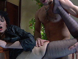 Inessa&Herbert crazy nylon soles movie scene