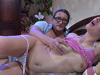 Inessa&Morgan gal and oldman video