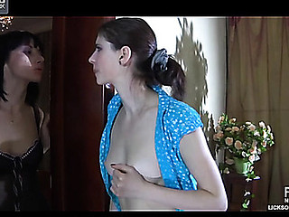 Beatrice&Mireille unsightly lesbo measure