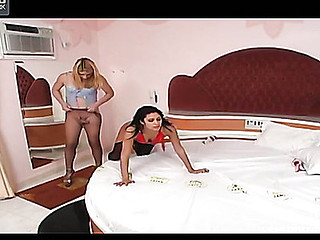Bianca tgirl bonks lady video
