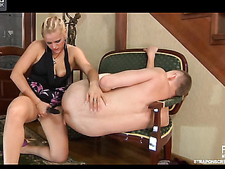 Susanna&Connor strapon sex video