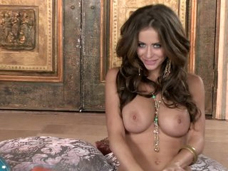 Busty coupled with malleable Emily Addison