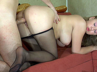 Alina&Rolf sexy nylon feet movie
