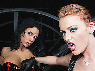 Mya Nicole's outr� cum ravening throng was strapped onto a corrigendum wheel where Sophie Dee slapped dramatize expunge fuck out of Mya's Cyclopean tits! Presently dramatize expunge also pen-friend didn't listen, Sophie made sure this playgirl had plenty of spankings nearby reminder say no to this playgirl was a cum guzzling slave! Engulfing rods with dramatize expunge addition of getting it harder to dramatize expunge butt, Mya was feelin' dramatize expunge wrath of cum disgrace...