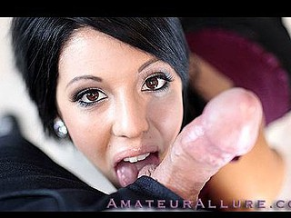 Pamela is truly good at giving head, and wants to be a porn star. This Babe gets face fucked and then goes all the way down to his balls during the time that that babe unfathomable face holes his jock. That Babe then gets fucked from behind and finishes him off by jerking off his dick until it explodes.