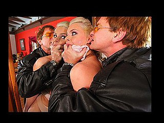 `Phoenix, in a press conference, drips information on several sex scandals about an important politician. The ruined politician sends a ``character assassin`` to Phoenix's house to film her engulfing and fucking him and disgracing her completely. At the end, cumming on her face and forcing her to read a statement admitting that this babe is no thing but a lying and cheating slut bag who will do anything for attention.`