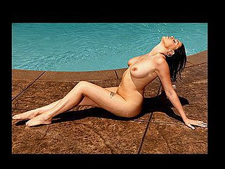 Kick back, soak up some sun poolside, and get ready for a wet ride with Nella Jay.  Let your troubles melt away as you see Nella rub oil all over her flawless love muffins, bumps and grinds her booty to the rhythm, and finishes off the day by riding Scott Nails biggest schlong.