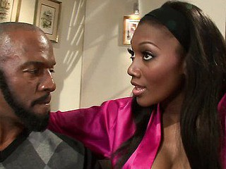 Nyomi Banxxx Has her lover Lee Bang over for a ass call and wears her sexy lingerie to get the night started off on the right foot. One Time completely nude that playgirl leans over to give him a prick teasing mini oral gusto that gets him so rock-hard this playgirl just now lays back on the couch, throws her lengthy legs up in the air and allows him to come into her moist vagina for some wild humping fun.  Next that playgirl gets on top and rails his woody until it's time for her to collect his sperm flow.