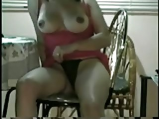 Latina gal with nice tits fucking her boyfriend