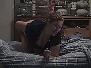 Fat chick with a gaffer wide ass gets rammed doggy freshen be her friend's cock close by his bedroom. In this made at house coition video, you can see this redhead drilled hardcore.