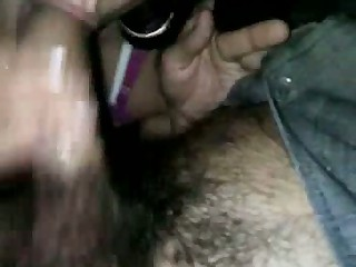 Hot Italian brunette sex worker with big slutty earrings and pink bra sucks a dick, whose cautious owner insisted on wearing a rubber, and then she widens her legs for some nice vaginal penetration in his parked car.