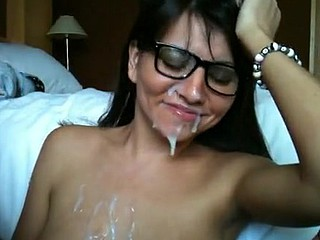She actually wanted me to shoot my warm cum all over her nice-looking face after she deepthroated me actually well