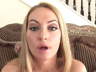 Astonishing unfathomable blowjob from Aline