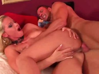 Hard in the pussy and then the ass