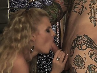 Wild and nasty cougar Cassie Courtland likes having a wild fuck with this hunk