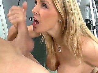Tanya Tate got screwed nigh by crummy photographer Xander Corvus, she gave him deep blowjob with the addition of screwed up!