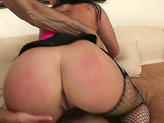 Spectacular hottie Sophie Dee is property her pussy smashed up in stunning hardcore by hunk Jordan Ash