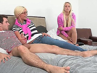 James Dean,Marc Medoff,Puma Swede and Vanessa Cage are horny and willing for fuck