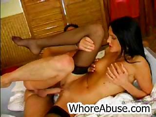 Elise spread say no to legs coupled with acquires fucked