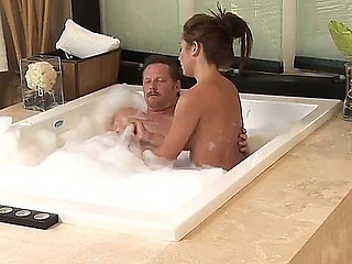Dick storms into the Nuru Massage