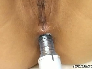 Akane ozora in perverse anal toying action !