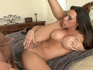 Rachel Starr gets facial ejaculation after all