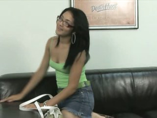 Latina Teen Bitch Andrea Kelly Gets Fucked and Facialized At The Office
