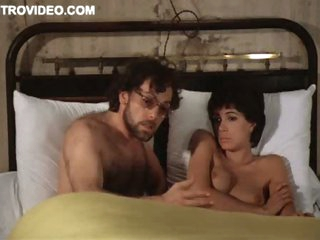 Fleshly Short-Haired Brunette Carole Laure Shows Will not hear of Ambrosial Knockers