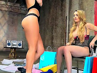 Large busted Jayden Jaymes and Kagney