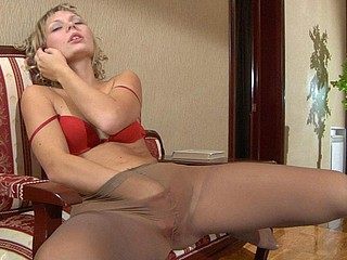 Bella pantyhose tease movie