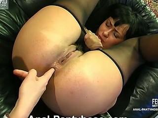 Barbara&Patrick stunning anal pantyhose movie