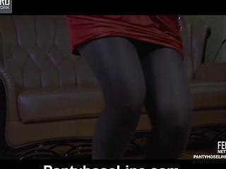 Marianne&Nicholas anomalous pantyhose movie