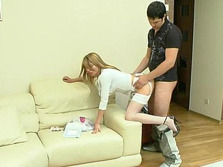 Alice&Adam frisky nylon movie