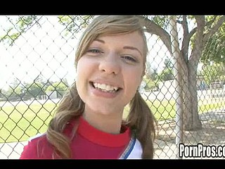 Legal Time Teenager Nicole Ray gets horny check tick off cheerleading practice.