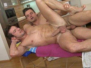 Priceless anal act with guys