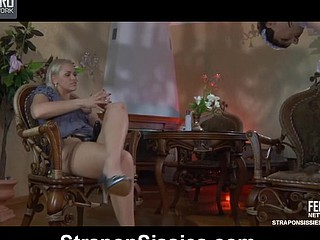 Hawt poltroon maid enjoyable their way domina by crack up their way throat coupled with anal crack