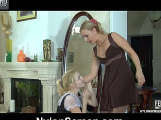 Judith&Betty nasty nylon action