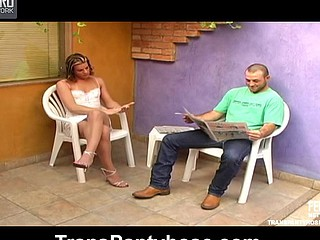 Rochele lady-man pantyhose sex episode scene