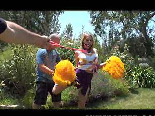 Gagged Cheerleader Shawna