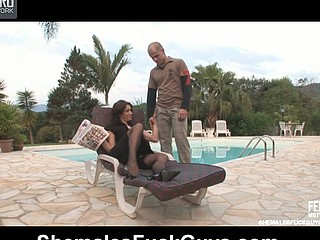 Adriana&Eduardo tgirl and pussyboy on clip