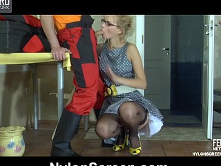 Irene&Rolf overheated hawt nylon video