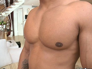 Muscular stud is fucked right into an asshole unfathomable