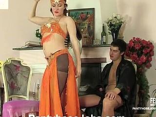 Gwendolen&Adam kinky hose sex video chapter