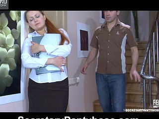 Megan&Jack office narghile sex action