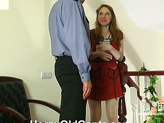 Marina&Hubert daddy sex conduct oneself