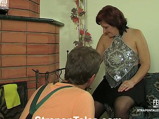 Viola&Monty sexy strapon movie scene