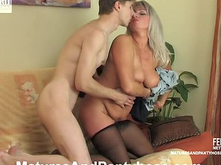 Jessica&Jerome aged pantyhose movie