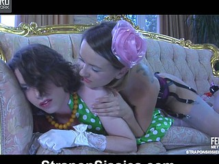 Denis&Owen unafraid sissysex action