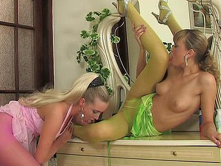 Helga&Trinity sexually discomposed hose imperil
