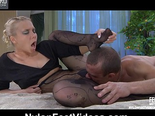 Virginia&Herbert sexy nylon feet movie